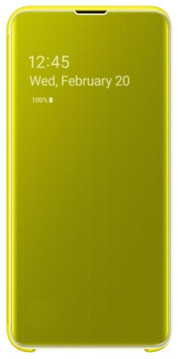 Чехол-книжка Samsung Для Galaxy S10e EF-ZG970C White
