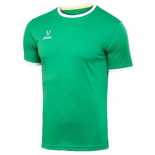 Купить Футболка Jogel размер YL, зеленый/белый, Футболки и топы