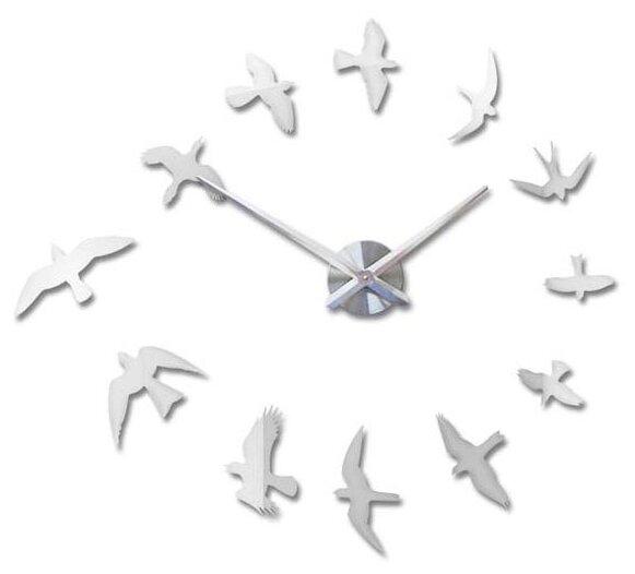 Часы настенные кварцевые 3D Decor Air Standart 100 см
