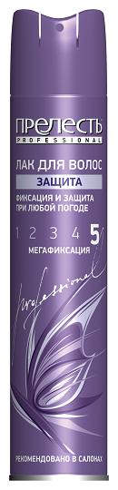 Прелесть Professional Лак для волос Защита, экстрасильная