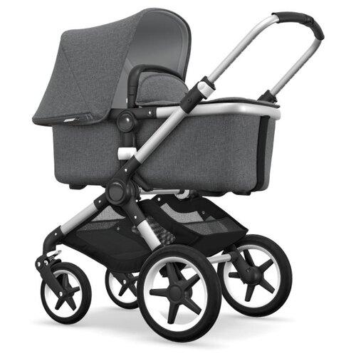 Универсальная коляска Bugaboo Fox (2 в 1) Alu/Grey melange/Grey melange, цвет шасси: серебристый