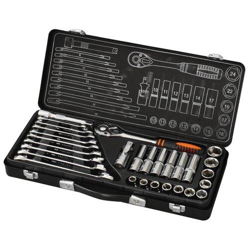 цена на Набор инструментов Кратон (29 предм.) TS-01 черный / оранжевый