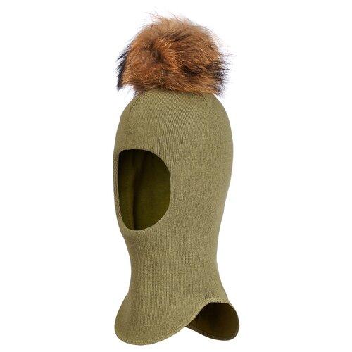 Купить Шапка-шлем Oldos размер 50-52, хвойный, Головные уборы