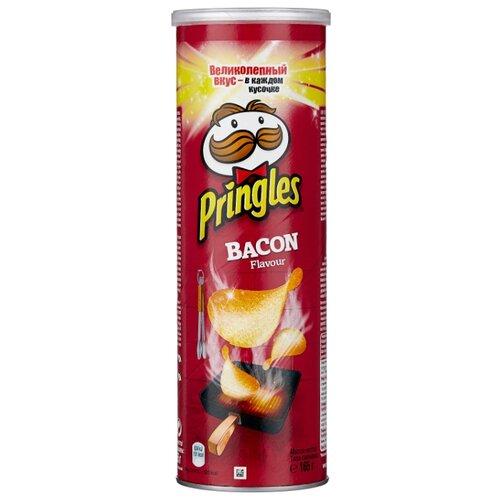 Чипсы Pringles картофельные Bacon, 165 г