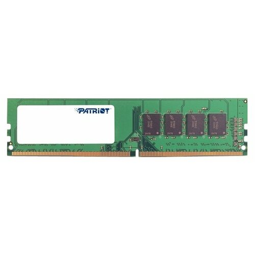 Оперативная память Patriot Memory Signature DDR4 2400 (PC 19200) DIMM 288 pin, 4 ГБ 1 шт. 1.2 В, CL 17, PSD44G240082