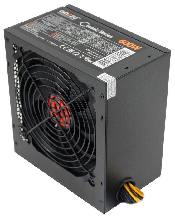 Блок питания Ginzzu CB600 600W