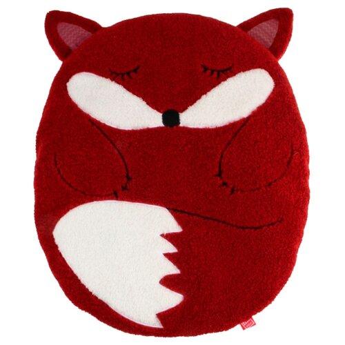Фото - Лежак для собак и кошек GiGwi Snoozy Friendz Лиса 57х45х6 см красный/белый лежак для собак и кошек gigwi snoozy friendz кот 57х57х4 см серый