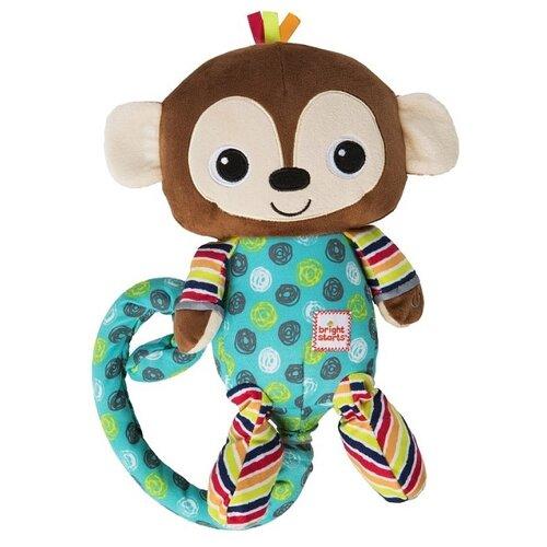 цена на Интерактивная развивающая игрушка Bright Starts Смеющаяся обезьянка коричневый