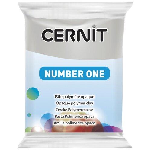 Полимерная глина Cernit Number one серая (150), 56 г