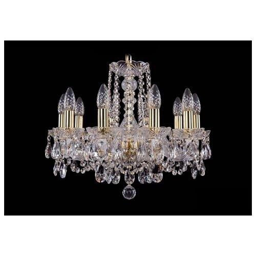 Люстра Bohemia Ivele Crystal 1402 1402/10/160/G, 400 Вт bohemia ivele crystal 1402 1402 16 400 g 640 вт