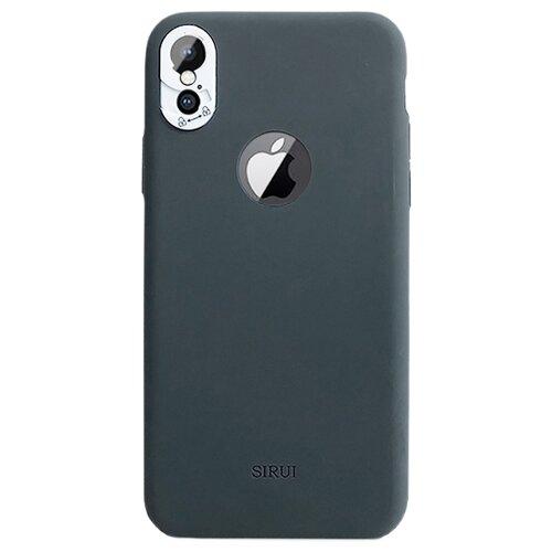 цена Чехол Sirui Protective Case для Apple iPhone X серый онлайн в 2017 году