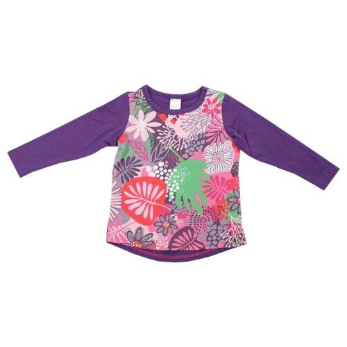 Лонгслив V-Baby размер 110, фиолетовыйФутболки и майки<br>
