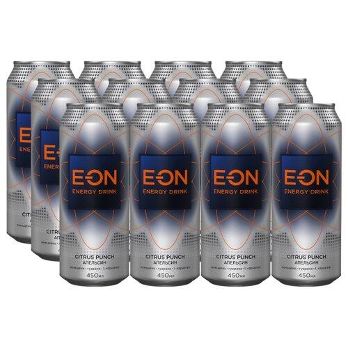 Энергетический напиток E-ON Citrus Punch, 0.45 л, 12 шт.