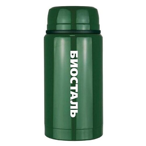 Фото - Термос для еды Biostal NTS-750, 0.75 л зеленый термосы biostal для еды с ложкой 0 5 л nts 500