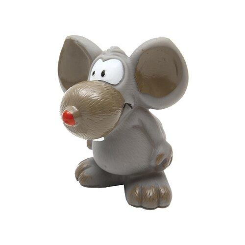 Игрушка для собак КАСКАД Забавная мышь (27799281) серый