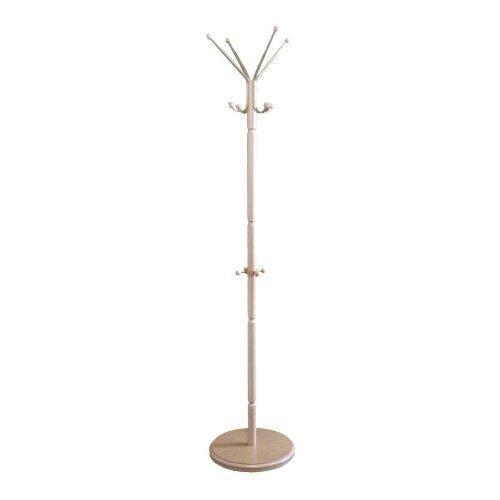 Напольная вешалка Мебелик В 33Н слоновая кость напольная вешалка мебелик вешалка напольная в 33н