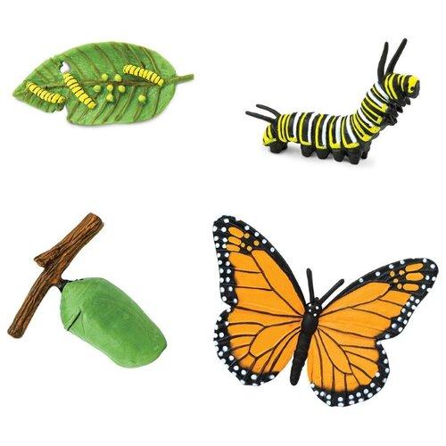 Купить Игровой набор Safari Ltd Жизненный цикл бабочки монарх 622616, Игровые наборы и фигурки