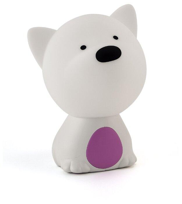 Ночник Lucia 121 Пёс Барбос (фиолетовый/белый)