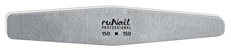 Runail Профессиональная пилка для искусственных ногтей, 150/150 грит