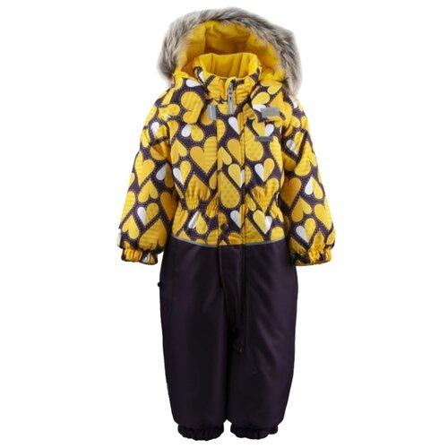 цена на Комбинезон KERRY DORA K19419A размер 86, 01090 желтый/черный