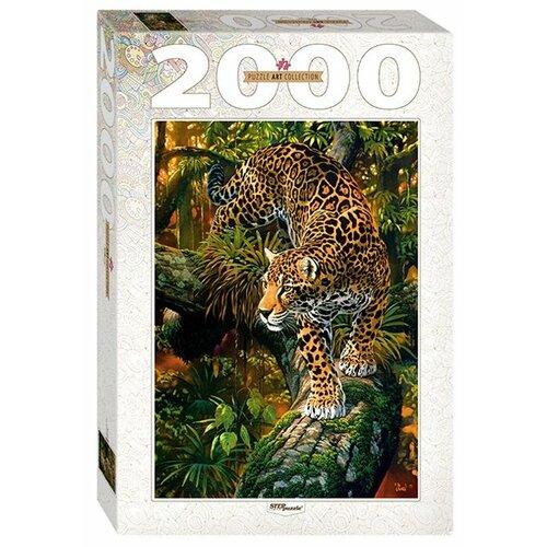 Купить Пазл Step puzzle Art Collection Леопард (84027), 2000 дет., Пазлы