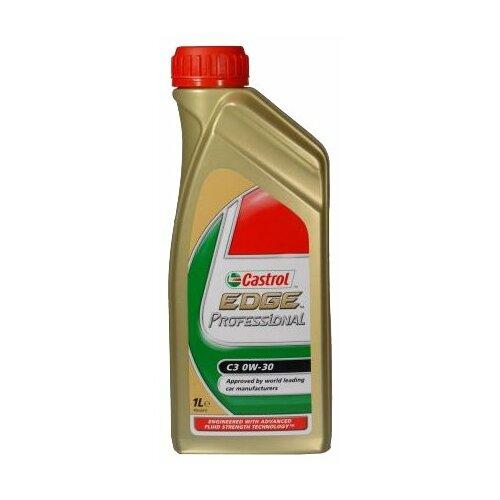 Моторное масло Castrol Edge Professional C3 0W-30 1 л моторное масло castrol edge 0w 30 a5 b5 4 л