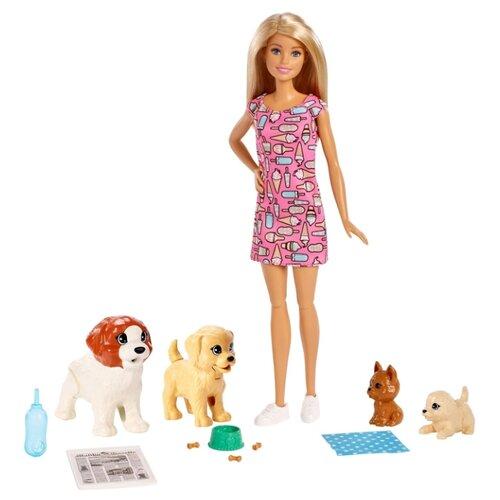 цена на Набор с куклой Barbie Doggy Daycare, FXH08
