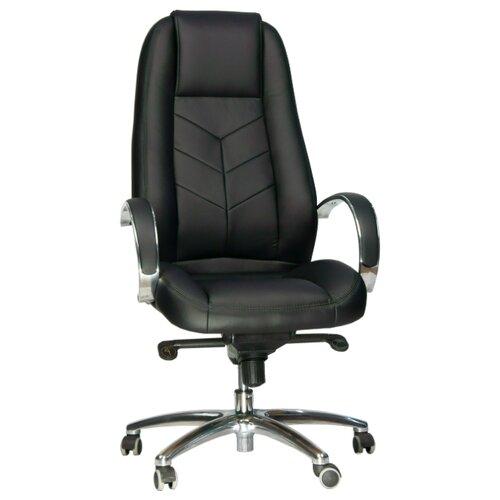 Фото - Компьютерное кресло Everprof Drift Full M для руководителя, обивка: искусственная кожа, цвет: черный компьютерное кресло everprof trend tm для руководителя обивка искусственная кожа цвет черный