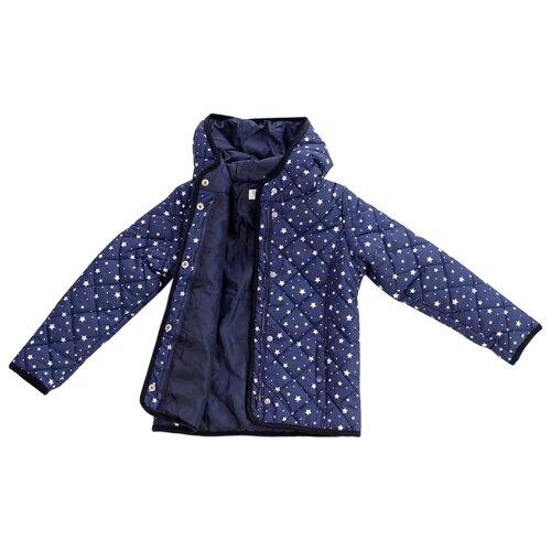 Куртка V-Baby 57-011 размер 110, синийКуртки и пуховики<br>