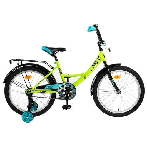 цена на Детский велосипед Novatrack Vector 20 (2019) зеленый (требует финальной сборки)