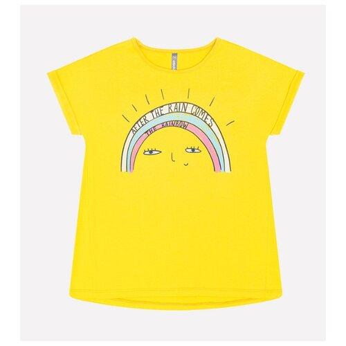 Футболка crockid, размер 110, желтый футболка kogankids размер 110 желтый