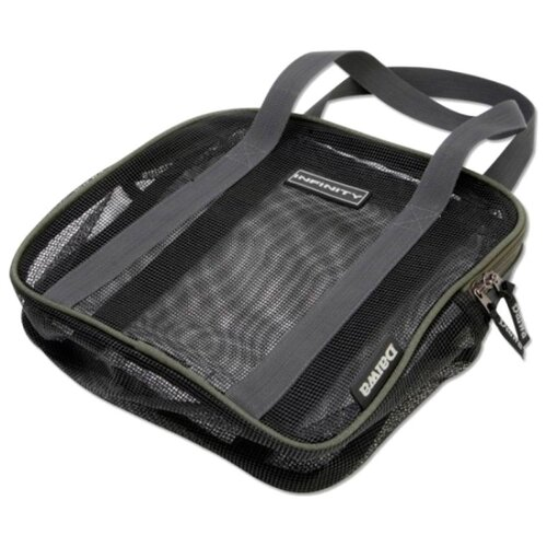 Фото - Сумка для рыбалки DAIWA Infinity Boilie Dry Bag-XL 25х25х27см серый/зеленый товары для рыбалки