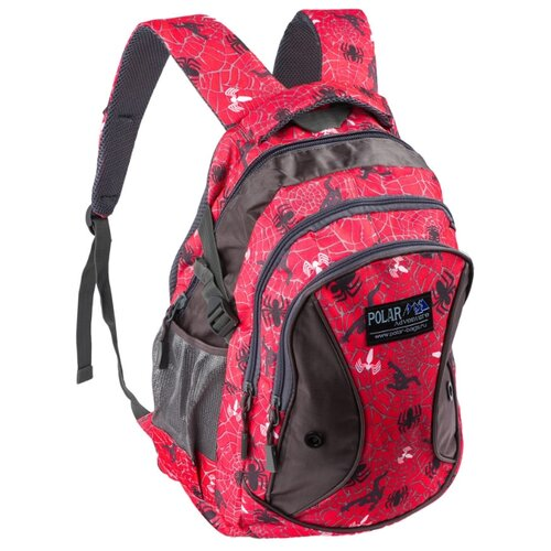 цена на Рюкзак POLAR 80062 24.5 красный/черный