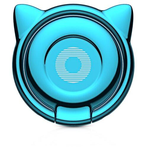 Подставка Baseus Cat Ear Ring Bracket голубойПодставки для мобильных устройств<br>