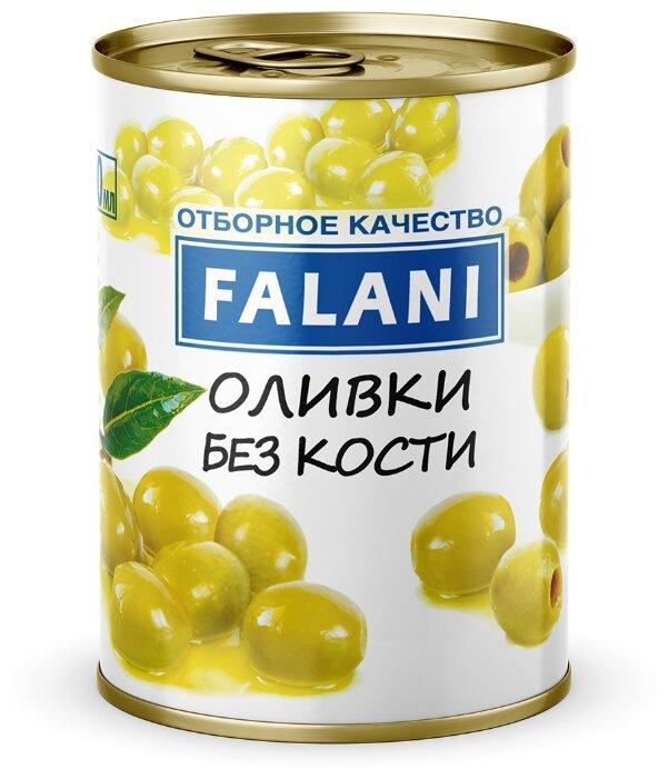 FALANI Оливки без кости, жестяная банка 300 мл