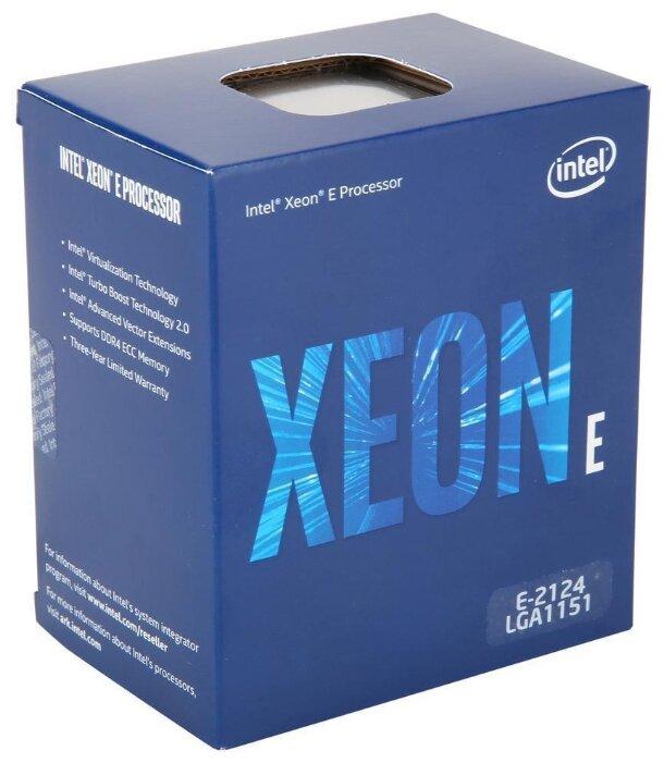 Процессор Dell Intel Xeon E-2124 338-BPYU