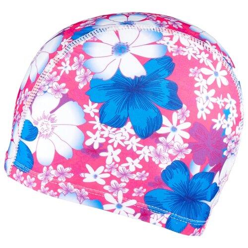 Шапочка для плавания BRADEX полиэстер розовый/синий bradex шапочка для плавания bradex полиамид синий