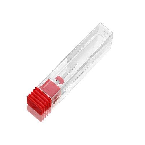 Фреза KrasotkaPro керамическая Игла D=0,9-2,3 мм, красная (87363) белый