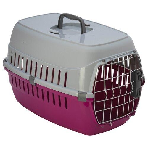 Фото - Клиппер-переноска для собак Moderna Road Runner II Spring Lock 35х37х56 см ярко-розовый клиппер переноска для собак imac linus cabrio 50х32х34 см розовый