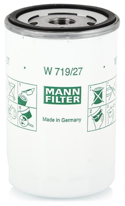 Масляный фильтр MANNFILTER W719/27