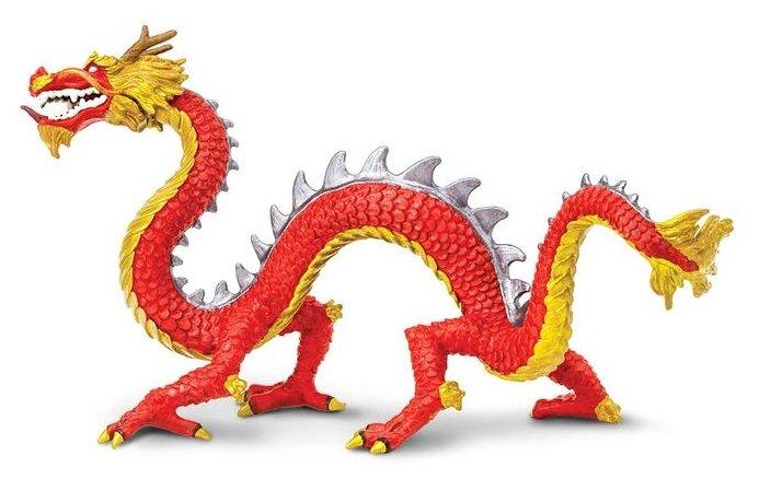 Фигурка Safari Ltd Рогатый китайский дракон 10135