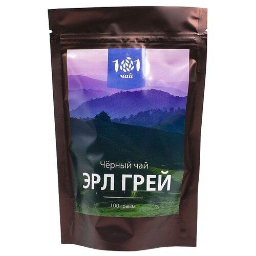 Чай черный 101 чай Эрл грей , 100 г