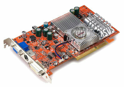 Видеокарта ASUS Radeon 9600 XT 500Mhz AGP 128Mb 600Mhz 128 bit DVI TV