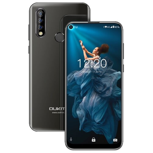Смартфон OUKITEL C17 Pro черный смартфон
