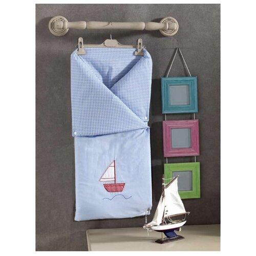 Конверт-одеяло Kidboo Blue Marine 90 см голубой