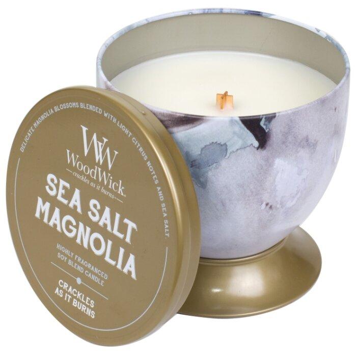 Свеча WoodWick Sea Salt & Magnolia в чаше (77662), средняя