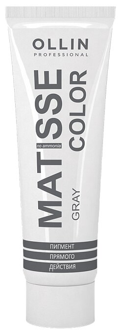 Краситель прямого действия OLLIN Professional Matisse Color, серый — купить по выгодной цене на Яндекс.Маркете