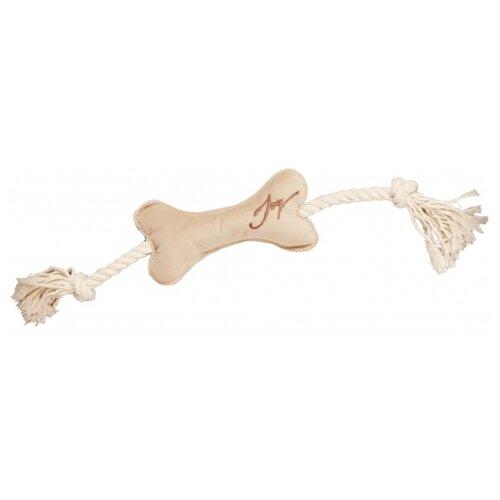 Косточка для собак Joy текстильная (2РУА00116) бежевый