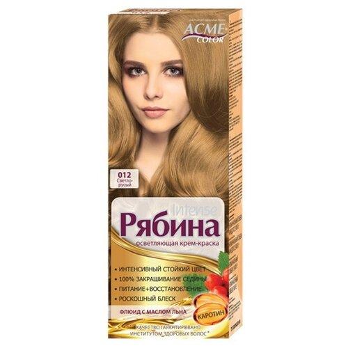 Фото - Acme-Color Intence Рябина краска для волос, 012 Светло-русый acme color intence рябина краска для волос 111 мокрый песок