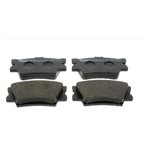Фото - Дисковые тормозные колодки задние Ferodo FDB1892 для Lexus ES, Lexus HS, Toyota RAV4, Toyota Camry (4 шт.) дисковые тормозные колодки передние ferodo fdb1891 для toyota lexus subaru 4 шт
